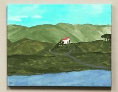 Acrylic: Tuscany