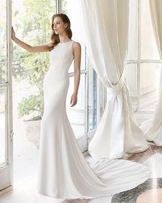 03e312497 Vestidos de novia sencillos Archivos - Rosa Clará - Vestidos de novia y  fiesta