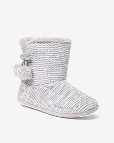 Keep those feet warm during winter with these slipper boots. Very comfy, they will add the little cozy touch that we love!