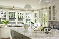 Kitchen designs with 1 wall window, - Google Search