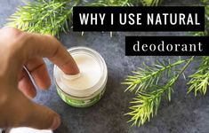 Why I Use Natural Deodorant (and give it out as presents) - #SimpleGreenSmoothies #natural #deodorant