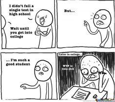 college life vs high school life
