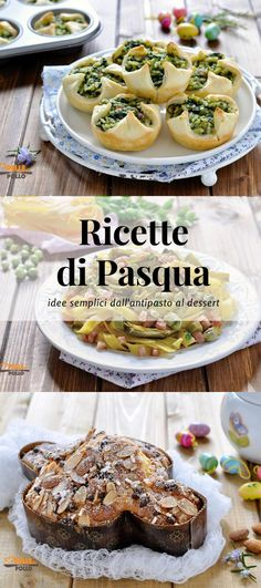 Easter Recipes, Appetizer Recipes, Appetizers, Antipasto, Gnocchi, Good Food, Food And Drink, Menu, Cooking Recipes