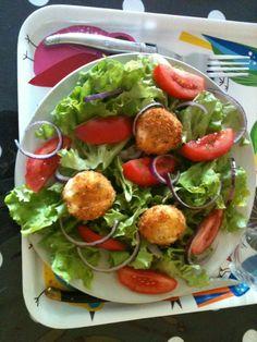 salade aux babybels panés