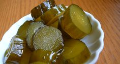 Crunchy Sweet Pickles - Converted