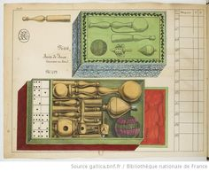 Carte de jeux et de tabletterie, 1847.
