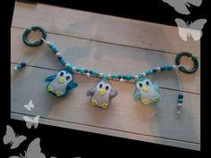 Kinderwagenkette pinguin 18126353