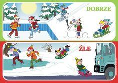 Niech żyją ferie zimowe bezpieczne i zdrowe! - Szkolne Blogi Winter Activities For Kids, Kids And Parenting, Techno, Family Guy, Kids Rugs, Baseball Cards, School, Children, Fictional Characters