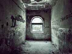 Opuszczony zakład psychiatryczny Zofiówka w Otwocku