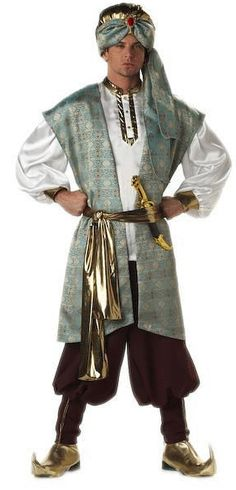 Aladdin costume google search aladdin bucks county playhouse click image above to buy sultan adult costume arabian costumes solutioingenieria Images