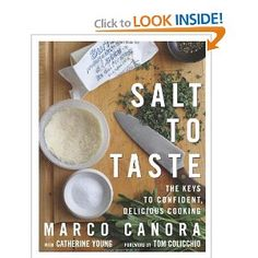 Salt to Taste: The Key to Confident, Delicious Cooking --- http://www.pinterest.com.tocool.in/36g