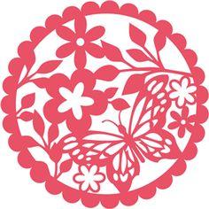 Силуэт Интернет-магазин: бабочка салфетка кружева