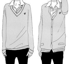 school uniform anime