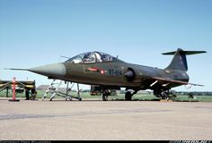 Royal Danish Air Force (RDAF) Lockheed CF-104D Starfighter Mk2  RT-654 (cn 583A-5324)