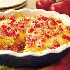Chicken Chile Enchilada Pie