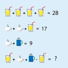 To improve your logical thinking and problem solving skills. Free online practice of puzzles and riddles problems with solutions for all competitive exams. Brain Teasers For Kids, Math Puzzles Brain Teasers, Logic Problems, Math Challenge, Logic Puzzles, Online Tutoring, Math For Kids, Thinking Skills, School Humor