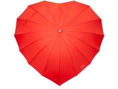 This heart shaped umbrella is perfect for that special someone. Keep yourself dry as you stroll hand-in-hand.