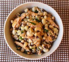 THERMOMIX: Salada de feijão frade e atum