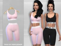 This outfit is inspired from the kylie jenner shop. Found in TSR Category 'Sims 4 Female Athletic'