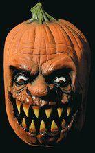 Jack-O-Lantern Mask     August 2012 Semi-Annual Halloween Mask Sale