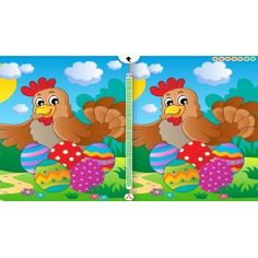 Easter Find the Difference for Kids, Toddlers and Adults for Kindle