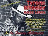 Tyrone Wheeler Bass Lines (Book)