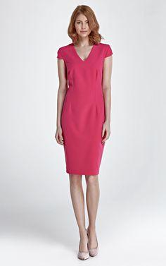 Short Sleeve Dress - SilkFred
