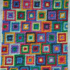 Cross stitch Squares