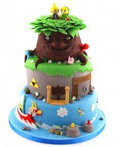 Amazing Legend of Zelda cake…