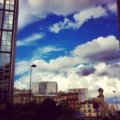 Rue Raymond Losserand - Paris 14ème. Times Square, Clouds, Paris, Travel, Outdoor, Outdoors, Montmartre Paris, Viajes, Paris France