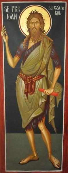 Jean Baptiste, Byzantine Art, Orthodox Christianity, Religious Icons, Orthodox Icons, Ikon, Disney Characters, Fictional Characters, Religion