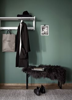 green for the entrance - Styling: Pella Hedeby & Marie Ramse...