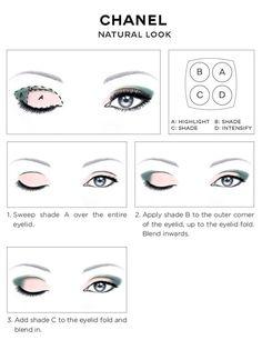 Chanel Eye Chart Макияж: Как носить Chanel Les 4 Ombres Тени для век - Beautygeeks