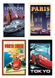 Cars tourism movie #posters