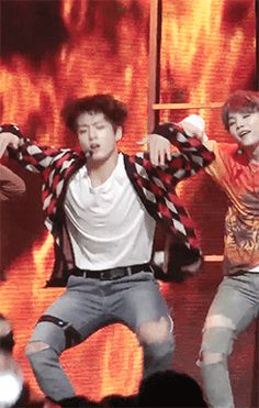 Jungkook's been killing those body rolls
