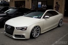 Simply Clean 5 Audi S5 on BAGGED on CV-T's!