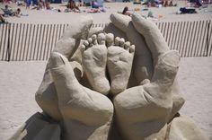 Sand Sculpture, Hampton Beach, NH