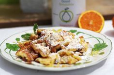 Fruchtiger Kaiserschmarrn à la Orange Wir haben für euch ein neues Rezept getestet und den traditionellen Kaiserschmarrn mit fruchtigem, gesunden Orangenpulver aufgepeppt. So könnt ihr es nachkochen: http://www.good-smoothie.de/blog/