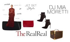 """Jet Set Style With DJ Mia Moretti & The RealReal: Contest Entry"" by nedim-2001 ❤ liked on Polyvore featuring Chanel, Yves Saint Laurent and Louis Vuitton"