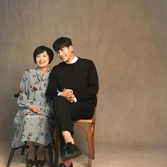 Ji Chang Wook and mom, instagram August 11/2017 beautiful photo