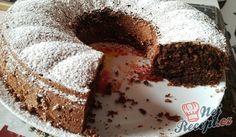 Křehká, nadýchaná a sladká nutellová bábovka. Doma nám velmi chutná. Autor: cleopatra Sponge Cake, Sweet Cakes, Kefir, Cheesecakes, Nutella, Tiramisu, Treats, Baking, Breakfast