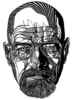 #WalterWhite Heisenberg #BreakingBad illustration by Luke Dixon. cc: @Brian Flanagan McKay