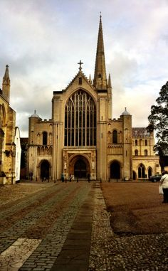 Norwich cathedral Norwich Cathedral, Medieval Gothic, Gothic Architecture, Cathedrals, Barcelona Cathedral, Worship, Building, House, Travel