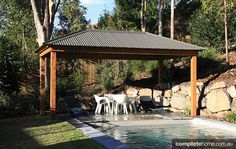 Great Investment: Bali Hut and Colorbond Gazebo - Completehome