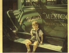 Vintage: Roberto Molina by Molina's Cantina, via Flickr. Look at that awesome truck!