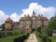 Château de Ratilly, in Treigny, France
