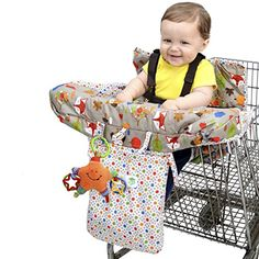 J is for Jeep Baby Shopping Cart Seat and Hi Chair Cover, Grocery Baby Trolley Cover, Woodland Pattern Cart Cover For Baby, Best Lightweight Stroller, Baby Trolley, Jeep Baby, Car Chair, Highchair Cover, Shopping Cart Cover, Baby Crib Mobile, Baby Safe