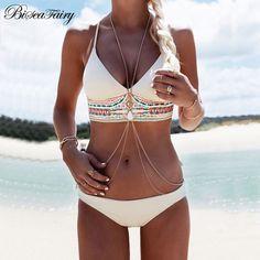 adcedbe5ff Nouveaux Bikinis 2016 Sexy Maillots De Bain Femmes Maillot de Bain Push Up Bikini  Brésilien ensemble