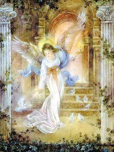 Gli angeli sono amore in movimento. Amore che non si ferma mai, che lotta per crescere, che sta al di là del bene e del male. Quell'amore che tutto divora, che tutto distrugge, che tutto perdona. Gli angeli rappresentano l'incarnazione di questo amore, e nel contempo, ne sono messaggeri. Paulo Coelho