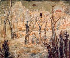 Winter in the dead wood - Albert Bloch,1938